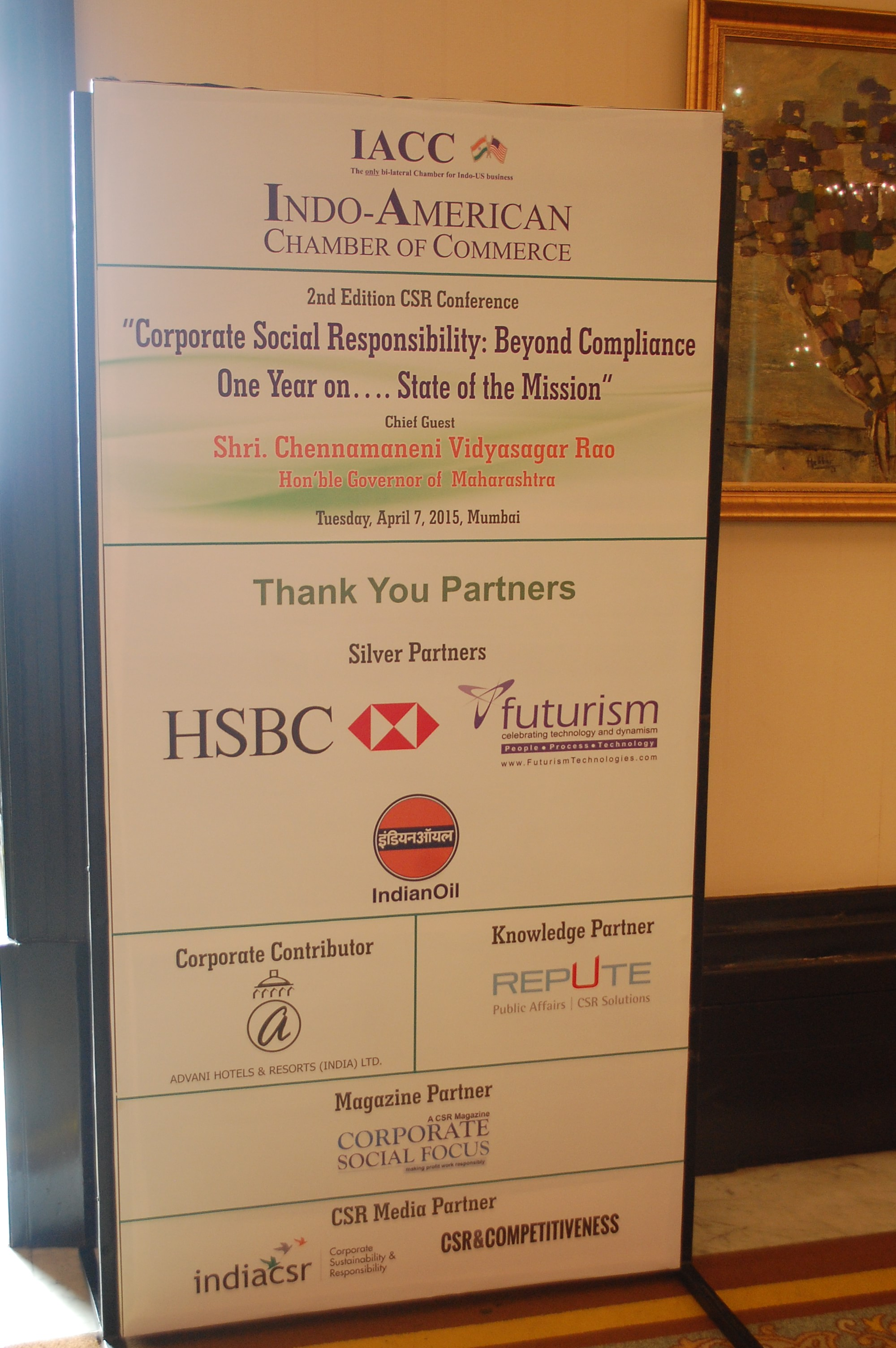 Futurism Technologies Partners and Supports IACCs Conference on CSR