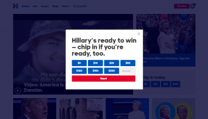 Call to Action of Hillary