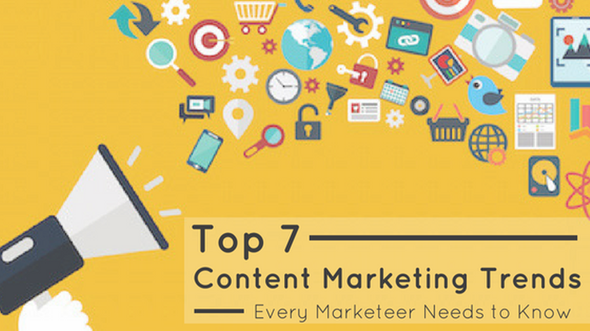 7 Content Marketing Trends to Watch in 2017