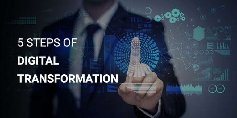 5 Steps Of Digital Transformation To Achieve Total Digitalization