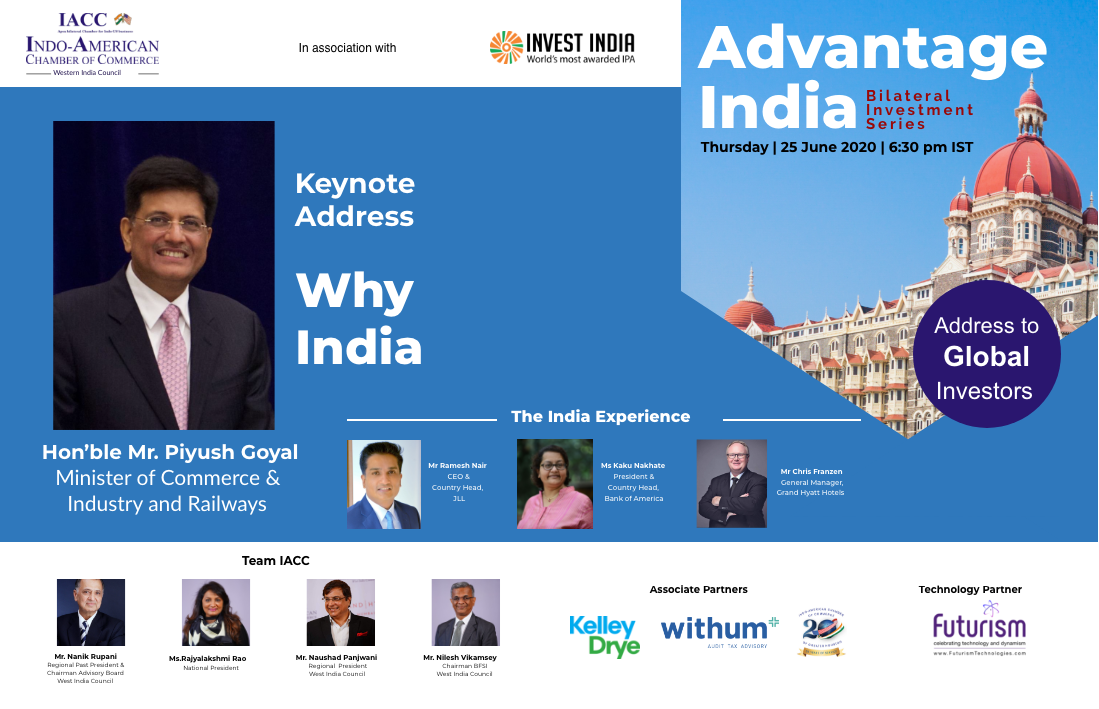 Futurism Technologies Partners & Supports IACC Conference on Advantage India